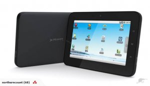 A top of the line = Google Android Tablet