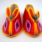 Chinese Baby infant Boy Girl Hand Made Embroidery Tiger Shoes