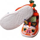 four season stitched sole tiger head baby shoes