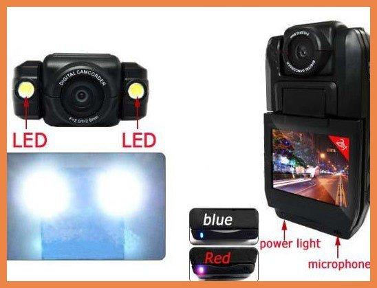140 Degree HD CAR DVR Video Camera Recorder portable Car Camcorder LCD