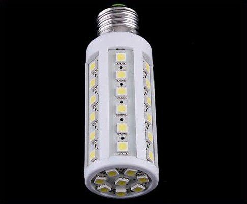 Bright 8W E27 LED SMD Corn Bulb White Light Lamp  10pcs/lot  Free Shipping