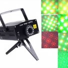 Multicolor Moving Party Stage LED Laser Light Projector  Free Shipping
