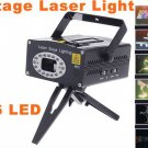Programmable Multicolor Moving Party Stage LED Laser Light Projector  Free Shipping