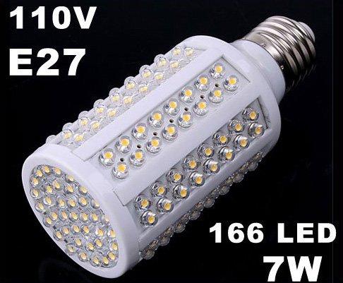 E27 110V 72 160 LED Corn Light  Free Shipping 5pcs/lot