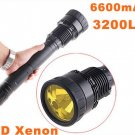 35/28W 3200LM Ultra-Bright HID Xenon Flashlight Torch  Free Shipping by EMS/DHL  Dropshipping