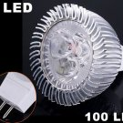 Energy Saving 100LM 3W Cold White MR16 LED Lightings  20pcs/lot  Free Shipping