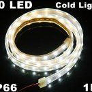 Cold white Light IP66 Waterproof SMD 3528 60 LED LED Strip Light  10pcs/lot  Free Shipping
