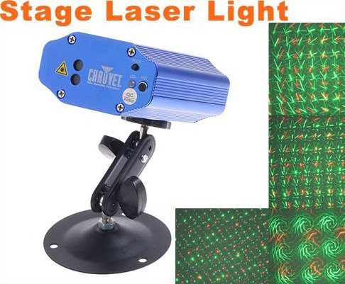 Mini Multicolor Moving Party Stage LED Laser Light Projector  Free Shipping