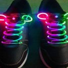 LED Light Up Shoes shoelaces Luminous shoestring Flash Glow Stick  5sets/lot  Free Shipping