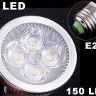 E27 150LM 4W Energy Saving Cold White 4 LED Light Bulb  20pcs/lot  Free Shipping