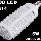 200-230V 5W 108 LEDs E14 Screw Corn Light  LED Lights  LED Bulb