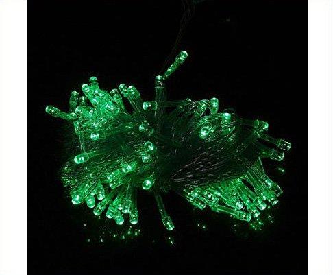10pcs/lot  Free Shipping  Green 100 LED 10m String Light