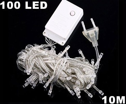 Yellow 10m 100 LED  String Light  Free Shipping
