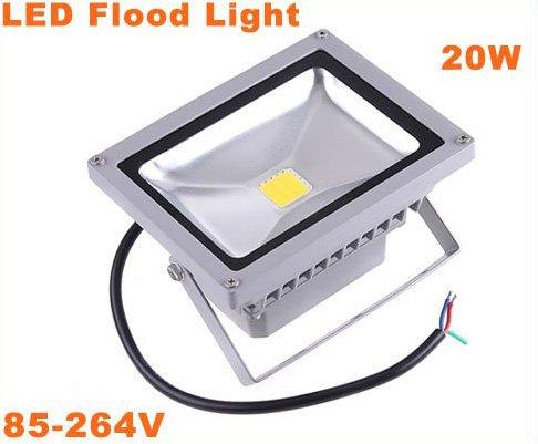 Pure White 20W Outdoor Landscape Lamp LED Flood Light  3pcs/lot  Free Shipping
