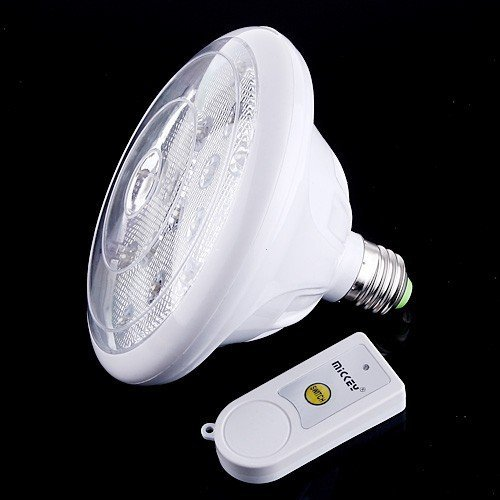 Rechargeable Emergency LED Light Lamp  3W E27  LED Light with Remote Control  Free Shipping