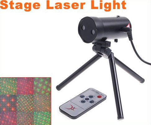 Mini Multicolor Moving Party Stage Laser Light Projector  5pcs/lot  Free Shipping