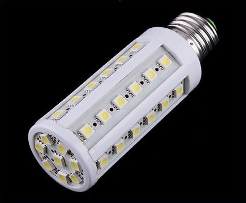 8W 44 LED E27 Corn Light Lamp  Free Shipping  Dropshipping