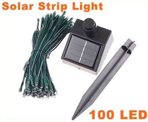 Solar LED String Lights Decoration Christmas Tree Party  Free Shipping