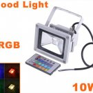10W Waterproof Landscape Lamp RGB LED Flood Light 3pcs/lot Free Shipping