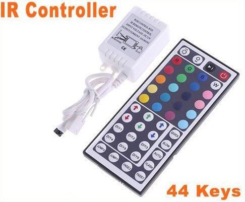 44 Keys IR Remote GRB Port Controller for RGB LED Strip Light  15pcs/lot  Free Shipping