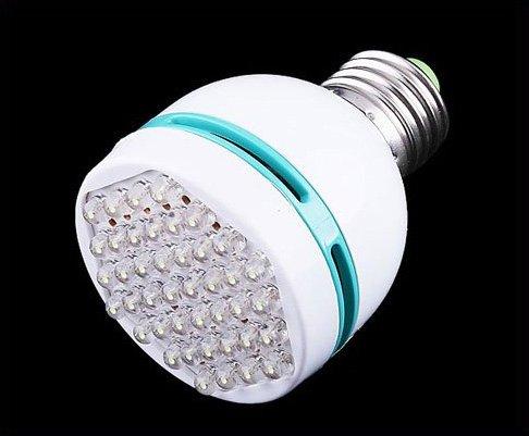 E27 3W 42 LED White Light Screw Bulb Energy Saving Lamp   Wholesale