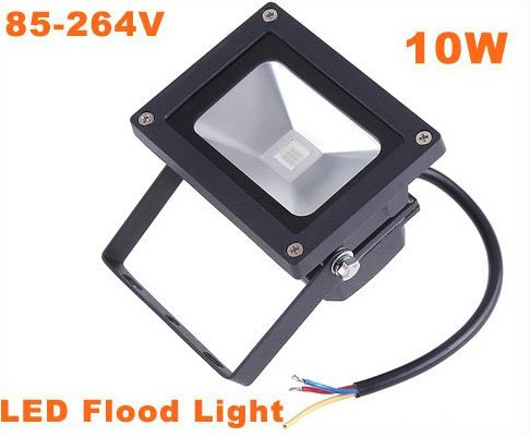 10W Outdoor Landscape Lamp Pure White LED Flood Light  LED Lights  5pcs/lot