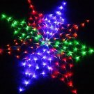 Colorful Net 160 LED Light For Christmas Party Wedding US 110V  10pcs/lot  Free Shipping