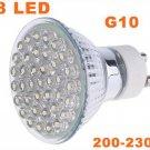 G10 38 LEDs 1.5W Energy Saving Lamp LED Light Bulbs 20pcs/lot  Free Shipping