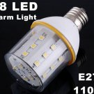 10pcs/lot  3500K 110V 4.5W E27 SMD Warm Light 28 LED Bulb Lamp  Free Shipping