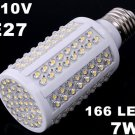 E27 110V 72 160 LED Corn Light  Free Shipping 20pcs/lot