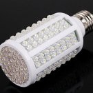 10pcs/lot White 8W E27 166 LED Energy Saving Corn Light Bulb Lamp 360 Degree  6500K  Free Shipping