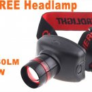 Adjustable CREE LED 160 Lumens 5W 3 Modes Headlamp Flashlight  15pcs/lot  Free Shipping