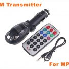 Hot sale Car mp3  Usb with FM Transmitter remote control Car MP3 player with SD MMC SLOT