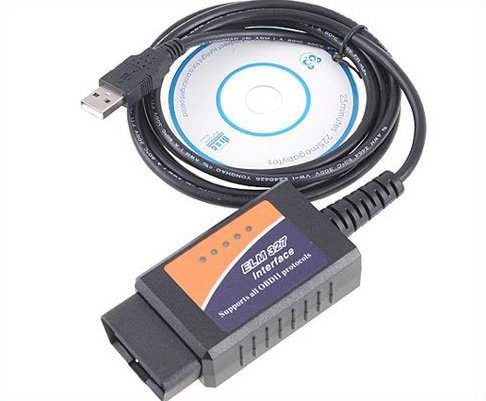 Best-sale V1.4 ELM327 OBD2 CAN-BUS car Diagnostic Interface Scanner scanners obd2  Free Shipping.