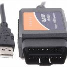 V1.4 ELM327 OBD2 CAN-BUS car Diagnostic Interface Scanner scanner for car Free Shipping