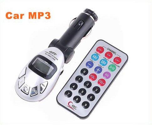 Cheap Car MP3 Car MP3 player USB FM Transmitter remote control with SD MMC SLOT