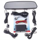 Parking sensor 4 Parking Sensors Car Backup Reverse Radar Rearview Mirror car parking system