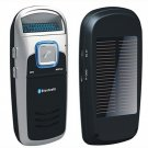 Solar Powered Handsfree Bluetooth Car Kit/ bluetooth car MP3 Player  3pcs/Lot  Free Shipping