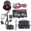 1-Way Car Alarm Car Security System with Remote Control Shock Sensor free shipping