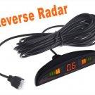 LED Car Parking sensor Parking Reverse Backup Radar with 4 Sensors