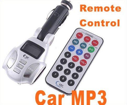 Car MP3 Car FM Transmitter Car MP3 USB SD/MMC/TF w/ Remote Control