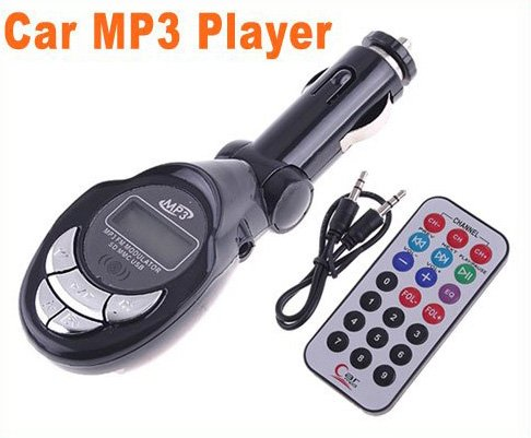 Cheap USB/SD/MMC Car MP3 Player car mp3 Car FM Transmitter with Remote Control