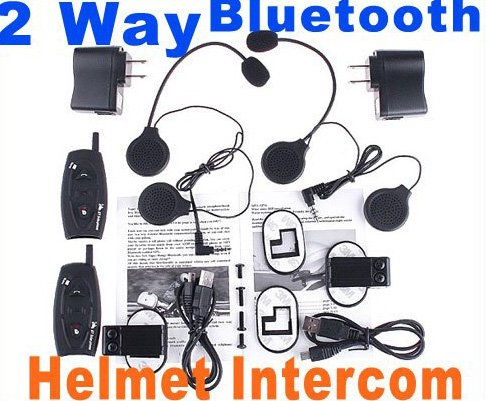 Hot intercom Bluetooth intercom Hand free Bluetooth Interphone 2-Way Motocycle Helmet Intercom