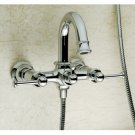 Chrome Two Handle mixer taps Shower and Bathtub Faucet (DZ7751) Free Shipping