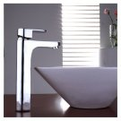 Chrome One handle single hole mount cold and hot Bath Sink Faucets(E520) Free Shipping