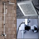 Wholesale Chrome Rainshower Shower suit with Handshower and Shower Heads(G0141) Free Shipping