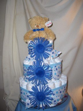 Centerpiece Diaper Cakes