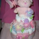 Macy Baby Cakes Girls Sweet Baby Collection Diaper Cakes--rattles, socks,  johnson baby &  more