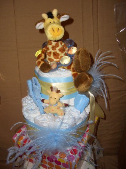 Jonesboro Diaper Cakes as Featured on KAIT Diaper Cakes