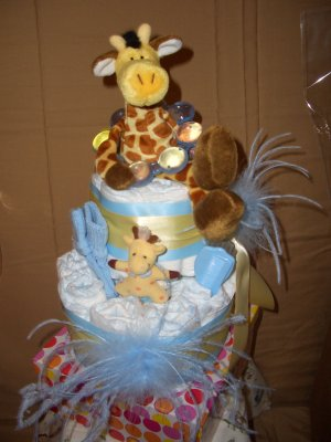 Jonesboro Diaper Cakes as Featured on KAIT Diaper Cakes